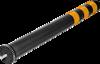 Smartpath flexibele paal zwart, diam. 80 mm