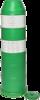 Plooibaken, diam. 220mm, H 750mm groen DG