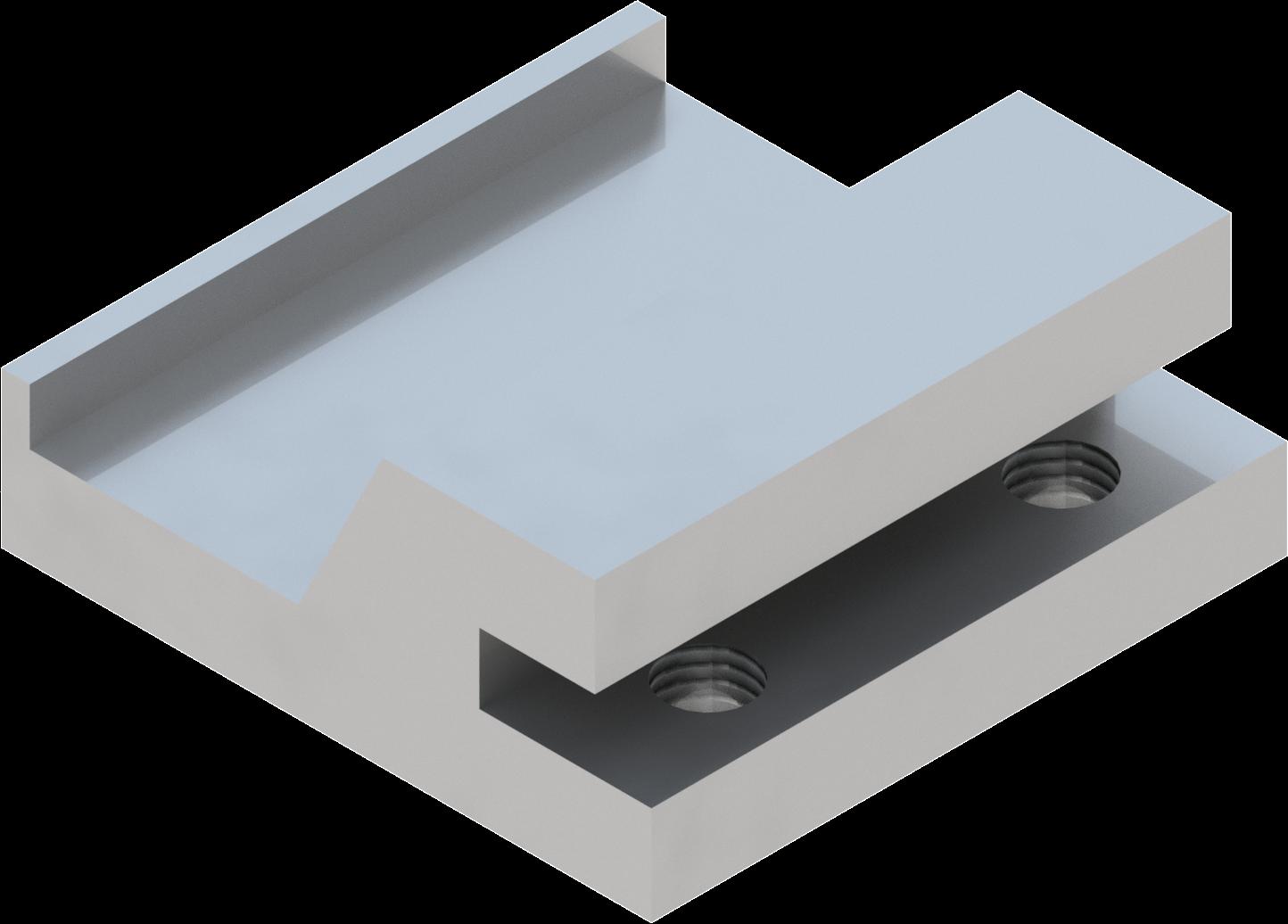 Band-IT blokje T2000  zonder centraal gat