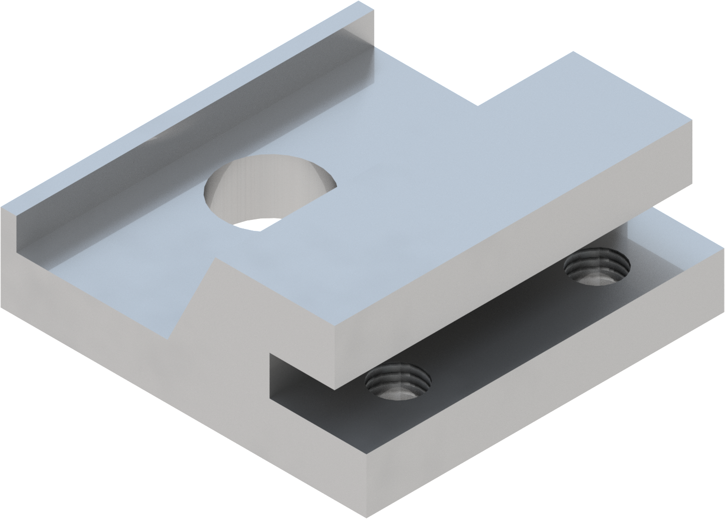 Band-IT blokje T2000  met centraal gat