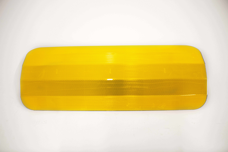 Paalschild geel DG 700 x 300 mm