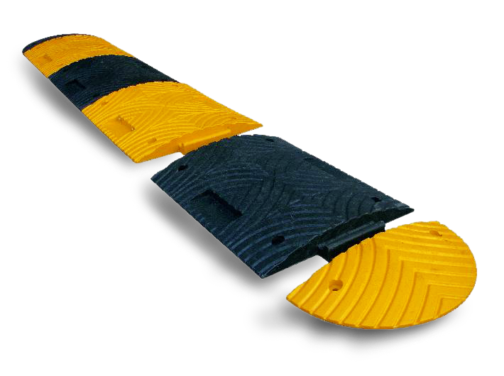Verkeersdrempel element geel 70mm - 500 x 400 x 70mm