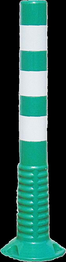 J-Flex , verende paal, groen, H 75cm, diam 8cm,