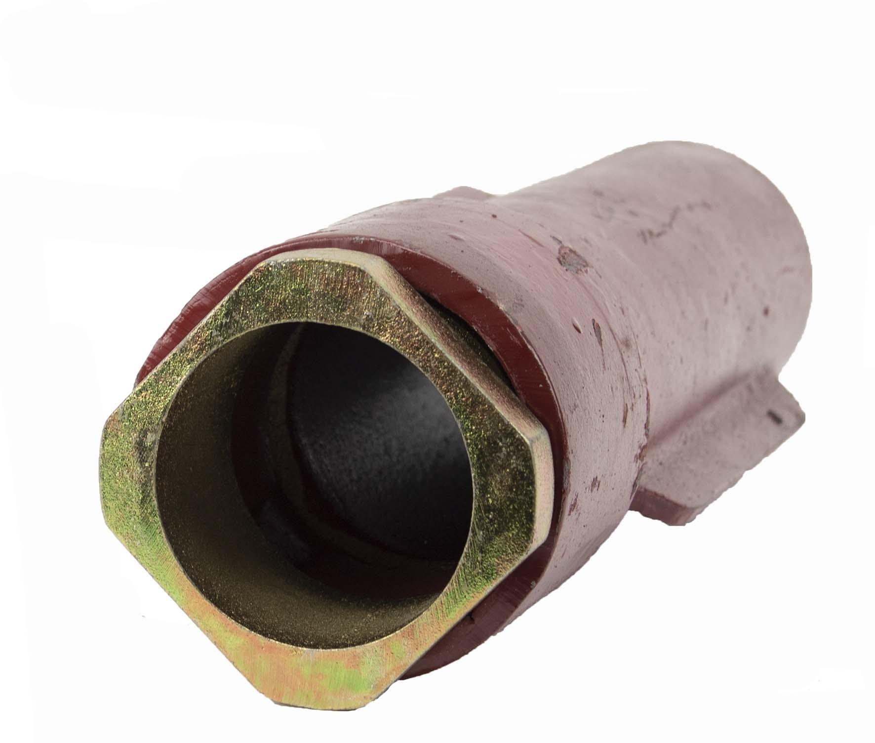 Gietijzeren bodemhuls diameter 89 mm -