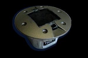 Wegdekreflector FSR-020, inbouw aluminium