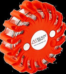 Escape Light oranje - met batterij - 9 lichtpatronen