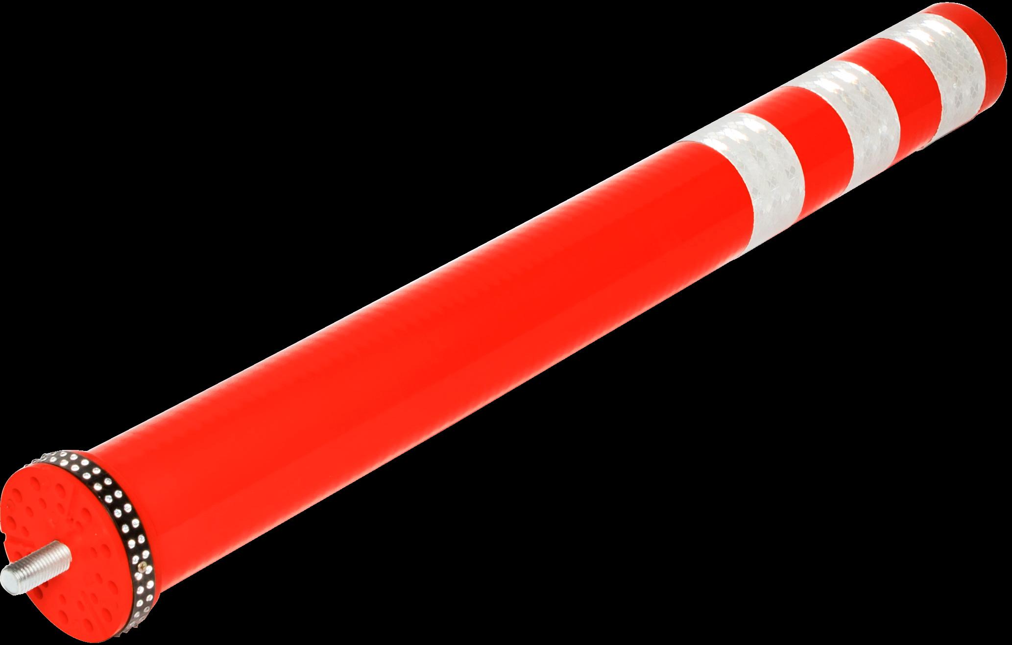 Smartpath flexibele paal rood, diam. 80 mm, H 800 mm