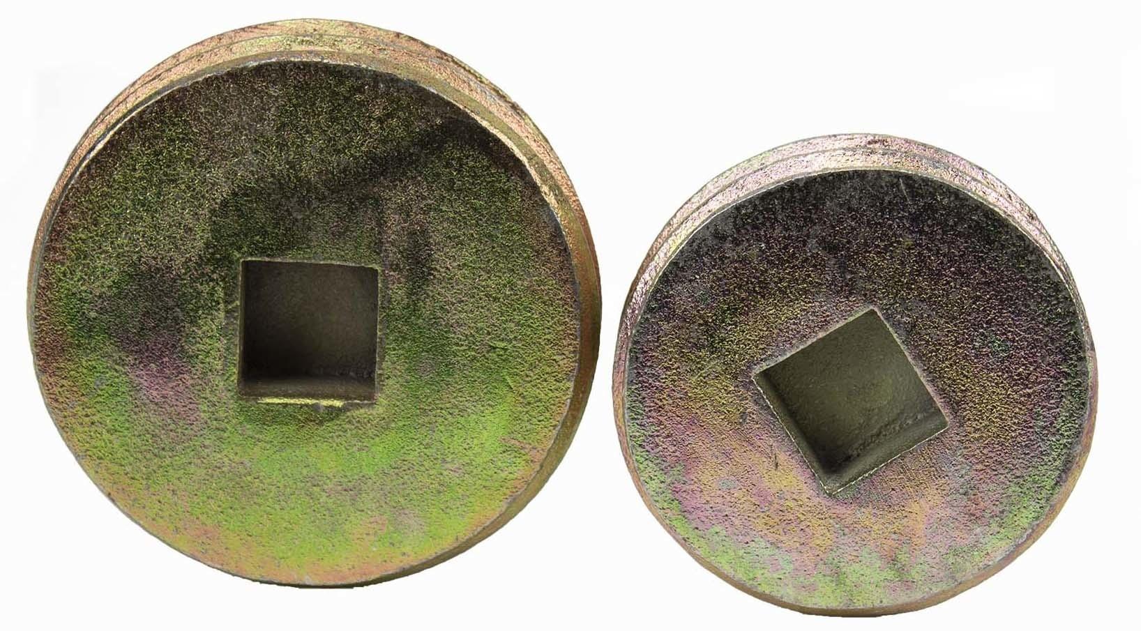 Afsluitdop voor bodemhuls diameter 76 mm