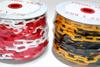 Kunststof ketting rood/wit - 6 mm - 25 m