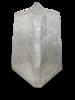 Betonsokkel hoogte 47 cm voor paal