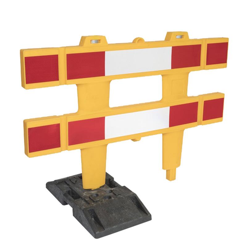 Afzethek Polgard geel dubbelzijdig R/W HI 1500 mm