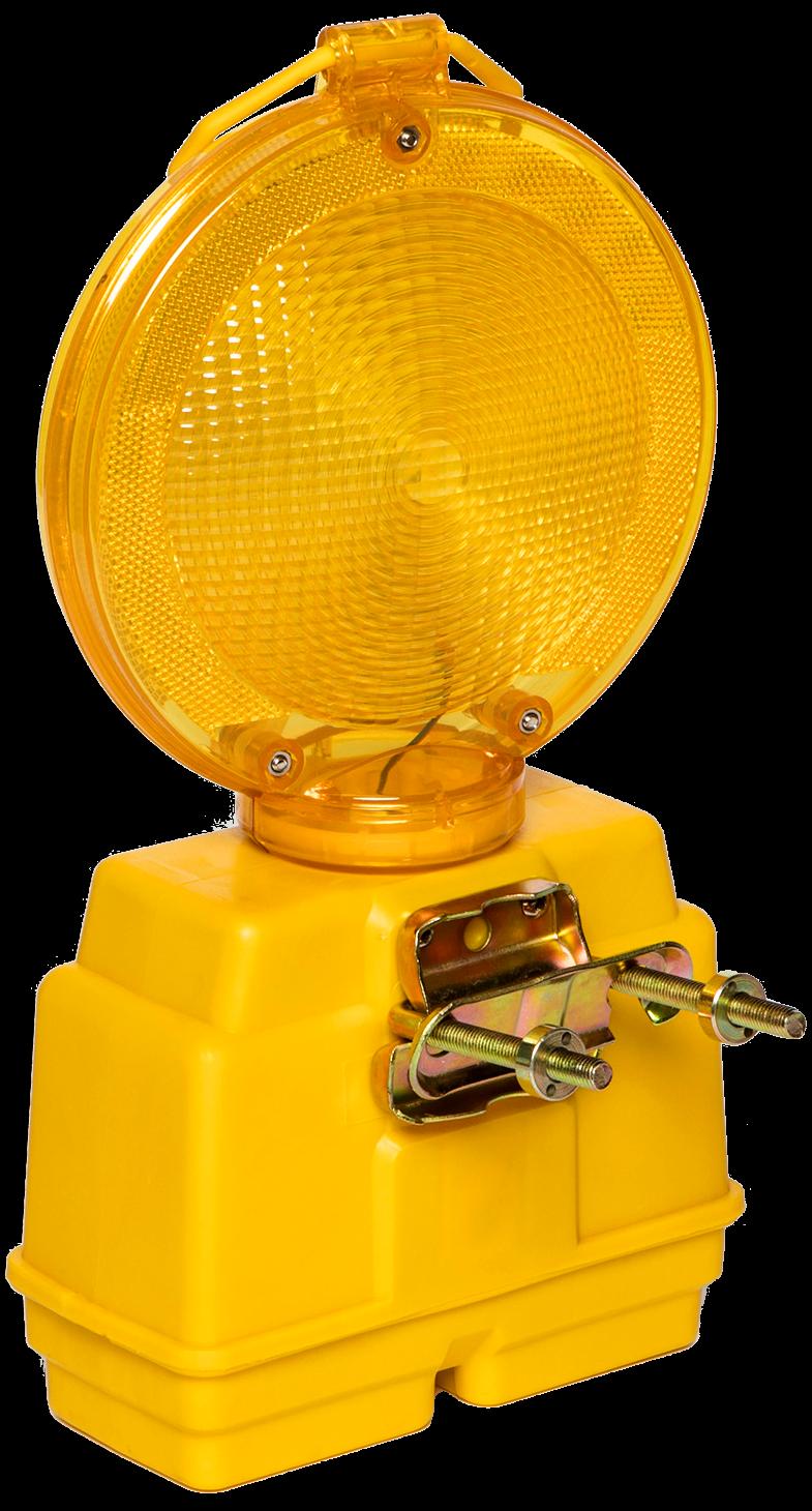Knipperlicht Star 2000 LED met anti-diefstalbeugel,