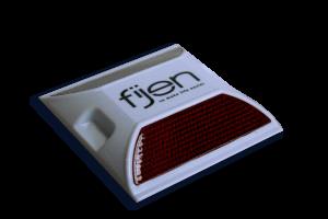 Wegdekreflector kunststof - FKT-201 -100 x 100 x 18 mm
