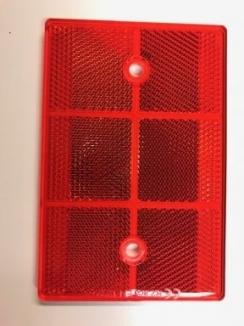 Reflector rood       70 x 110mm