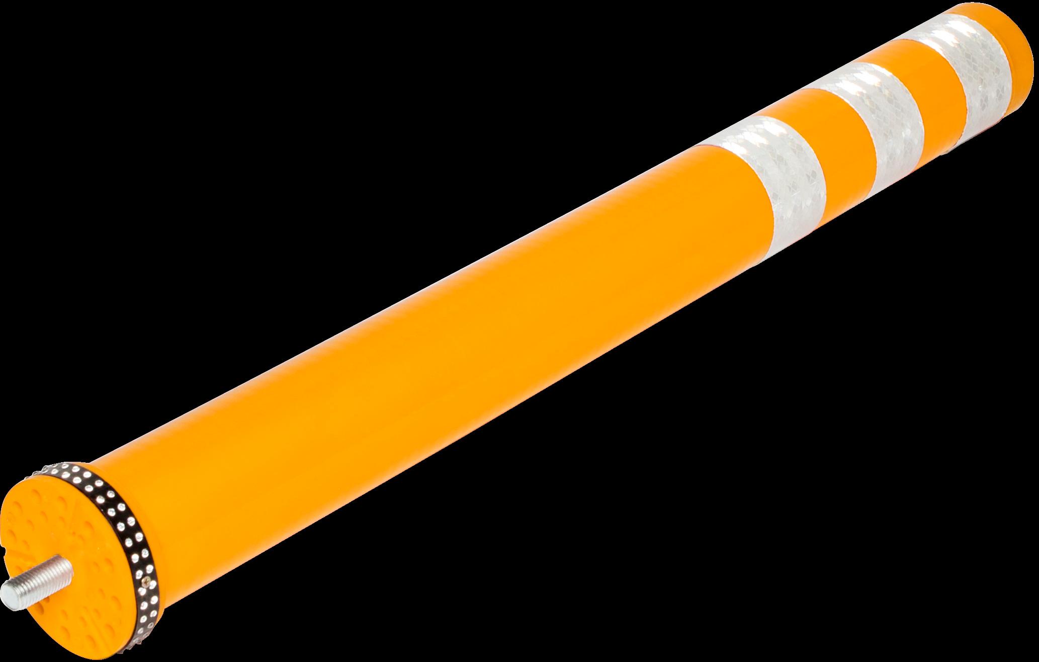 Smartpath flexibele paal geel, diam. 80 mm, H 800 mm