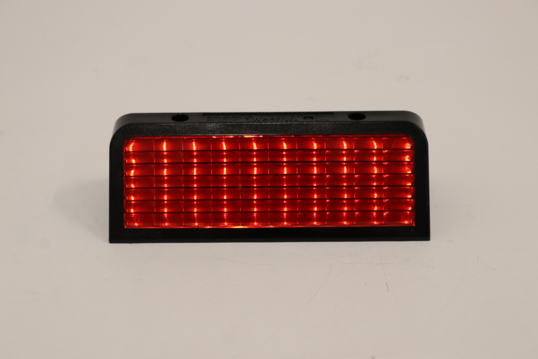 Wildreflector  rood, 184 x 81 x 60 mm, ref.: 7178