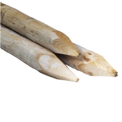 Paal voor wildreflector geimpregneerd vuren