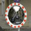 Verkeersspiegel - helder slagvast acryl - dia 800 mm