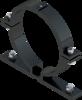 Beugel SB 250 diameter 133 mm - grijs RAL 7043