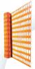Werfnet kunststof oranje, 150g/m2, 1 x 50m
