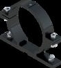 Beugel SB 250 diameter 114 mm - grijs RAL 7043