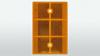 Reflector oranje   80 x 120 mm
