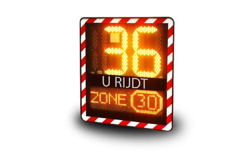 Snelheidsinformatieborden