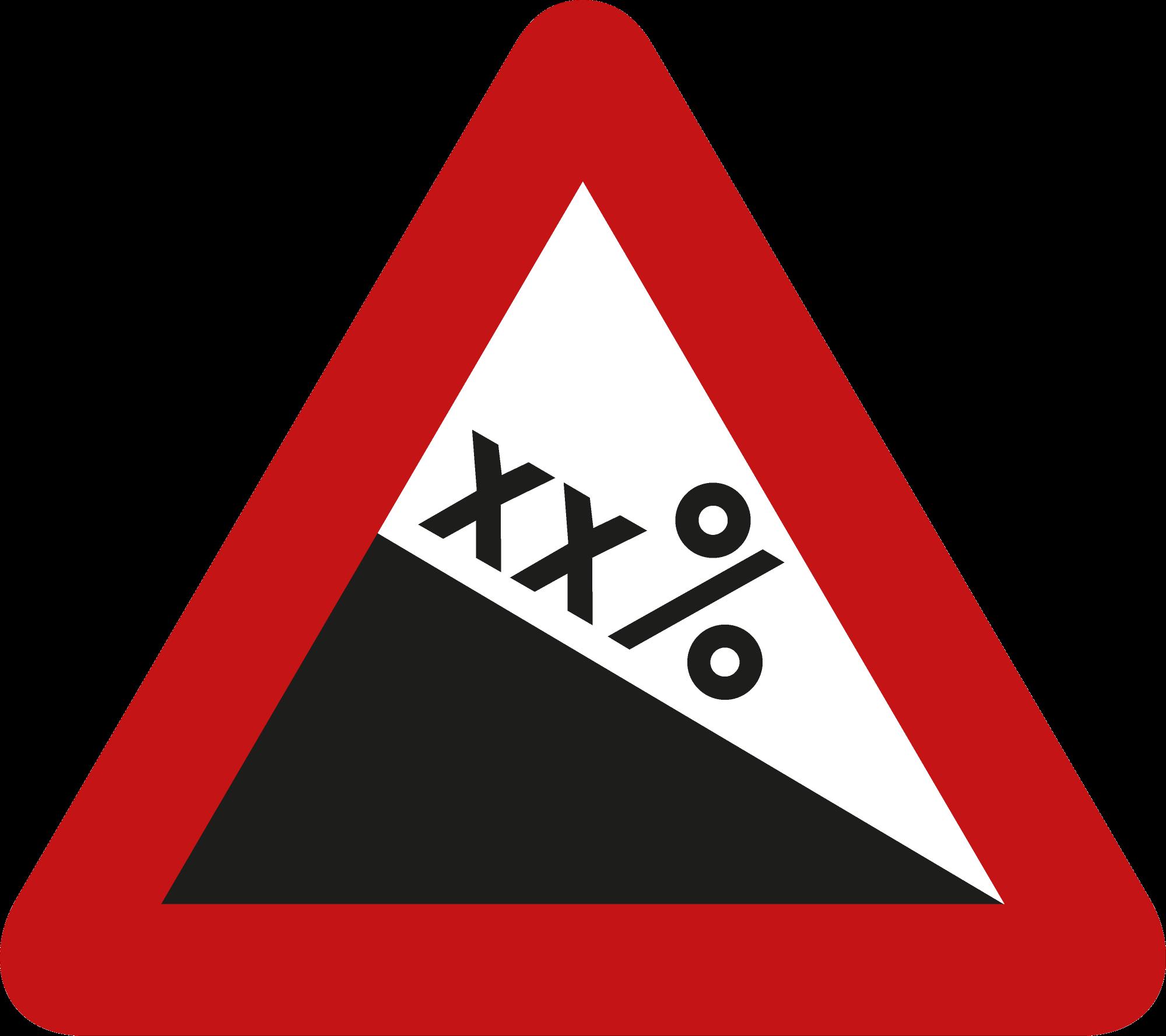 Signface - A3 - klasse  I - zijde 400 mm