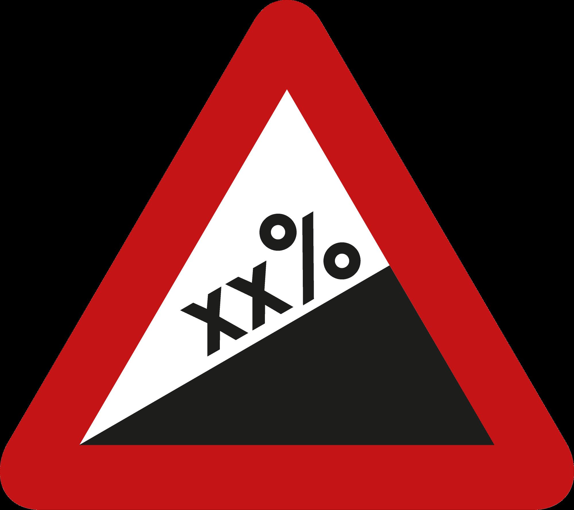 Signface - A5 - klasse  I - zijde 400 mm