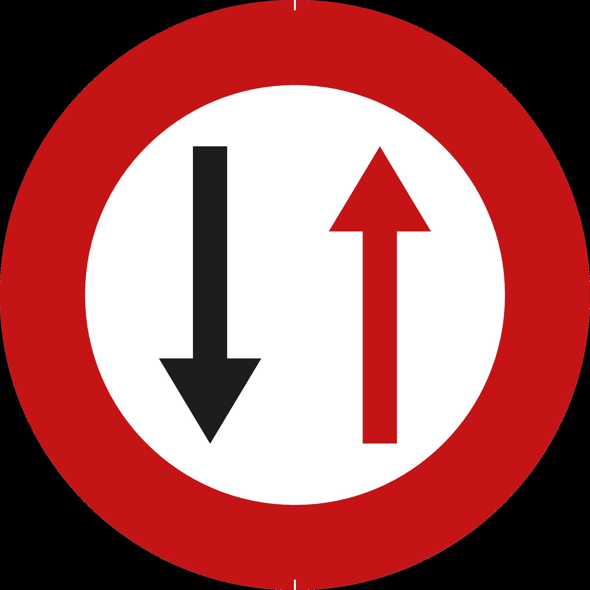 Signface - B19 - klasse  I - Ø 400 mm