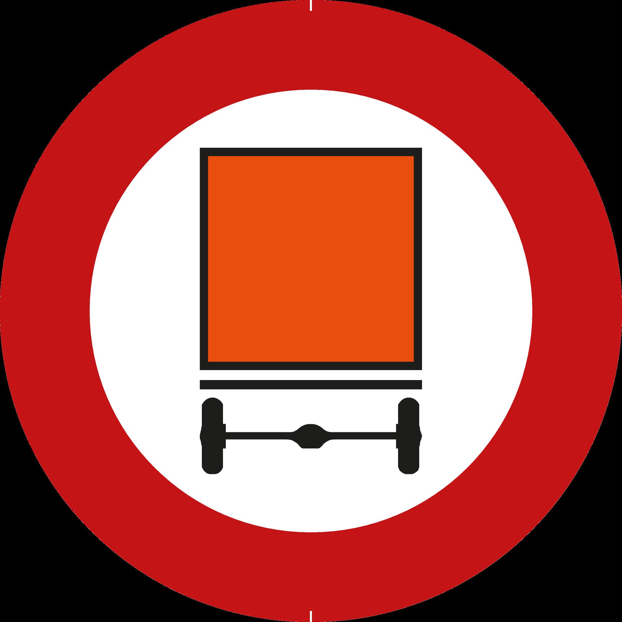 Signface - C24a - klasse  I - Ø 400 mm