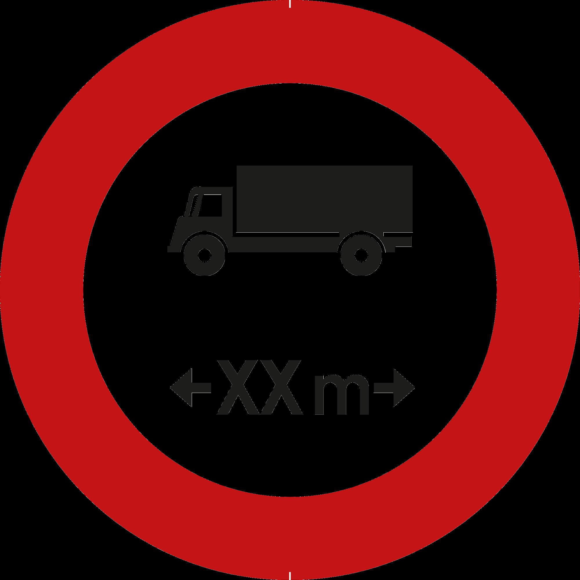 Signface - C25 - klasse  I - Ø 400 mm