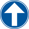 Signface - D1a - klasse  I - Ø 400 mm