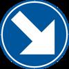 Signface - D1d - klasse  I - Ø 400 mm