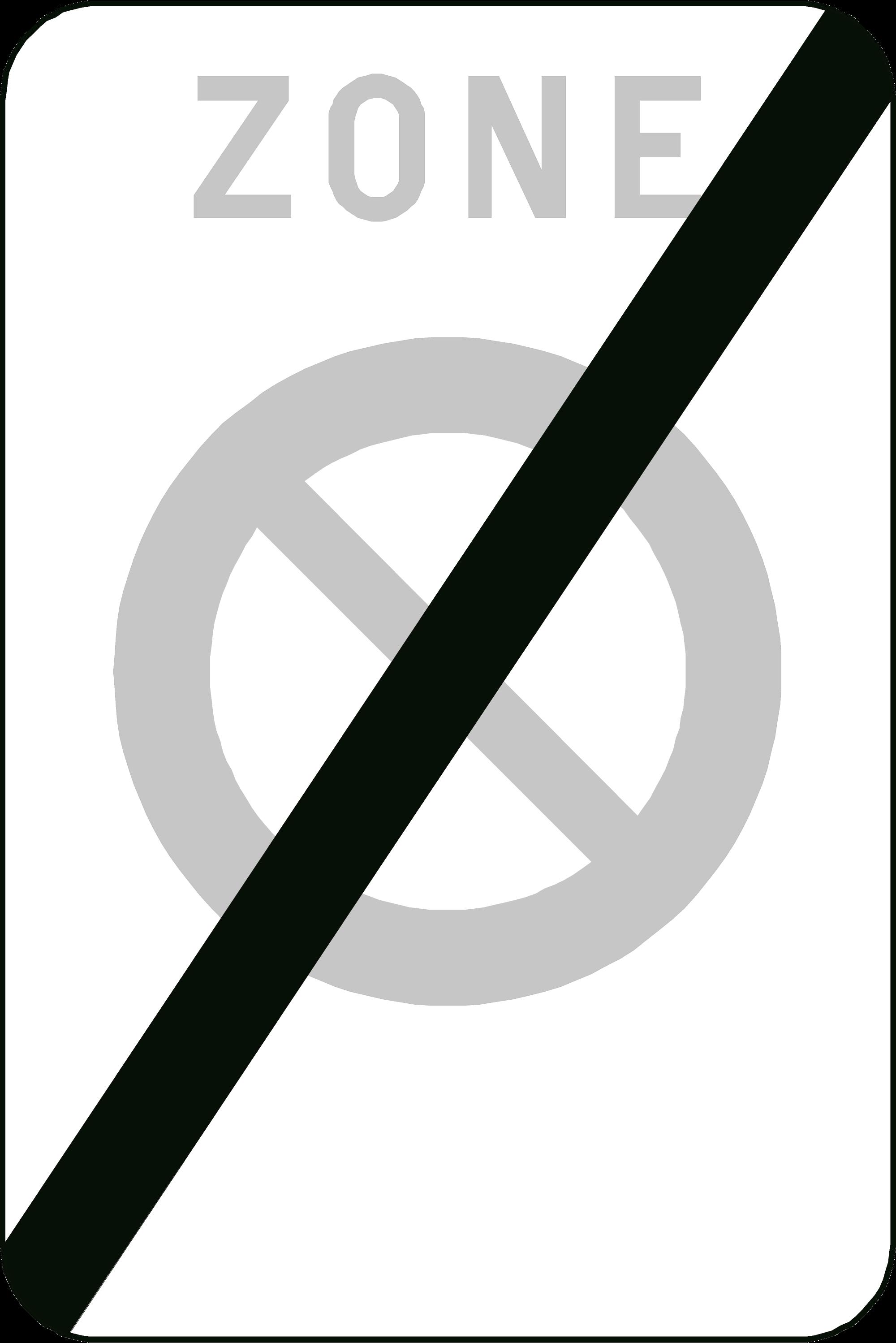 Signface - ZE1/ - klasse  I - 400/600 mm