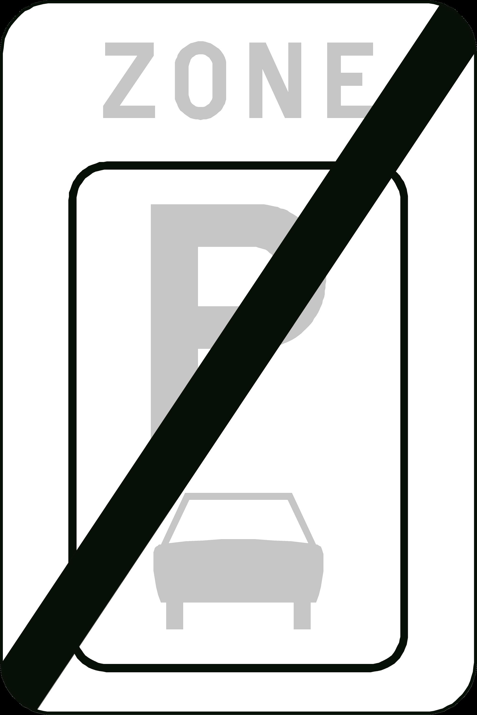 Signface - ZE9a/ - klasse  I - 400/600 mm
