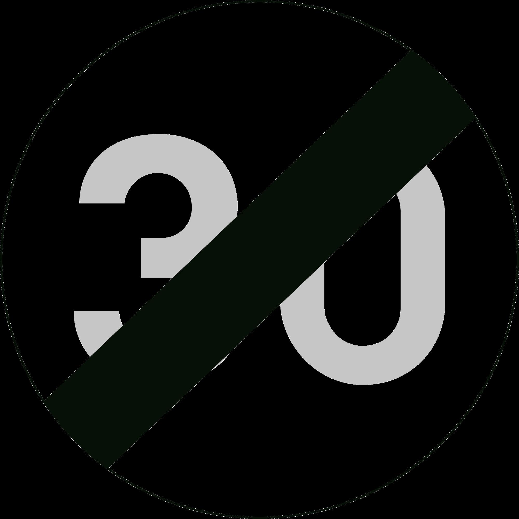 Signface - C45 - klasse  I - Ø 400 mm